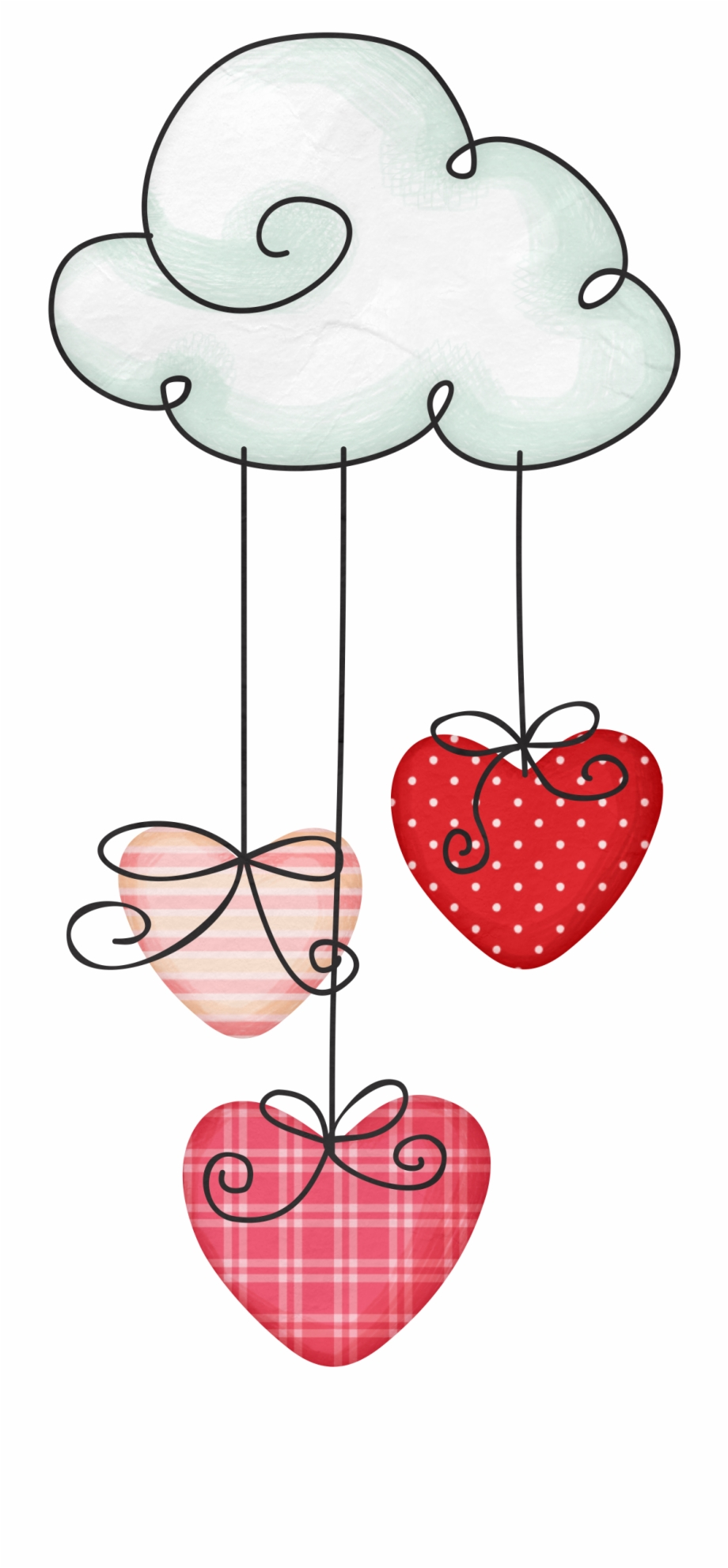 Hearts clipart cloud. Drawing heart free png