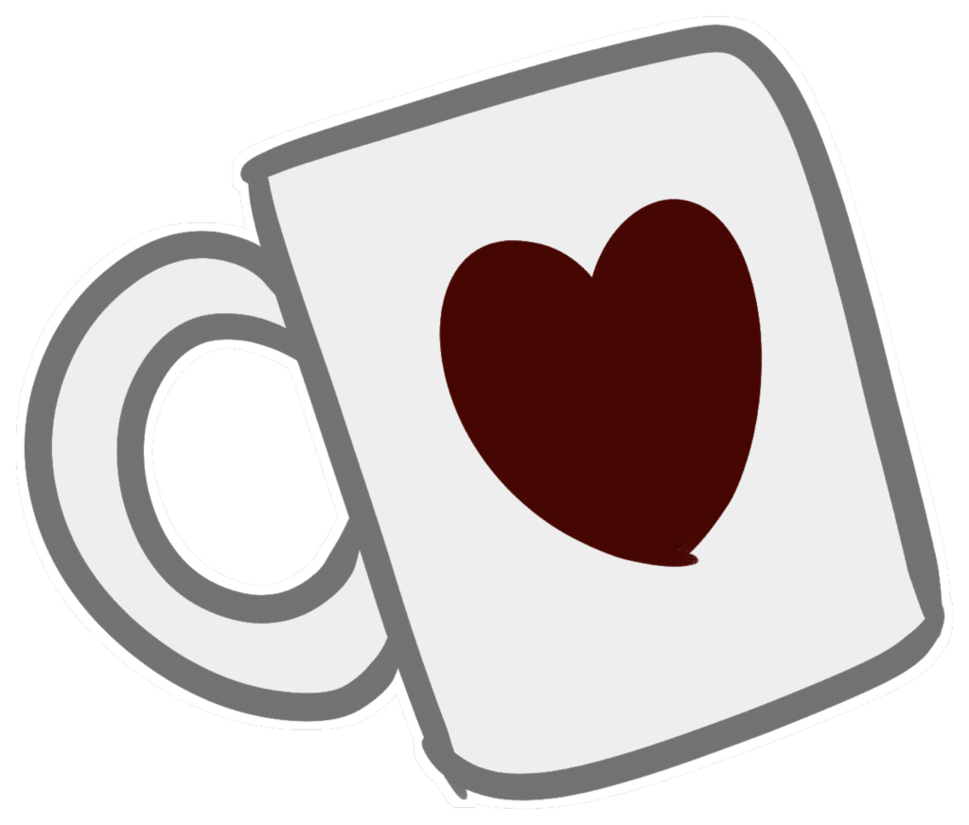 Hearts clipart coffee cup. Buy me a ko