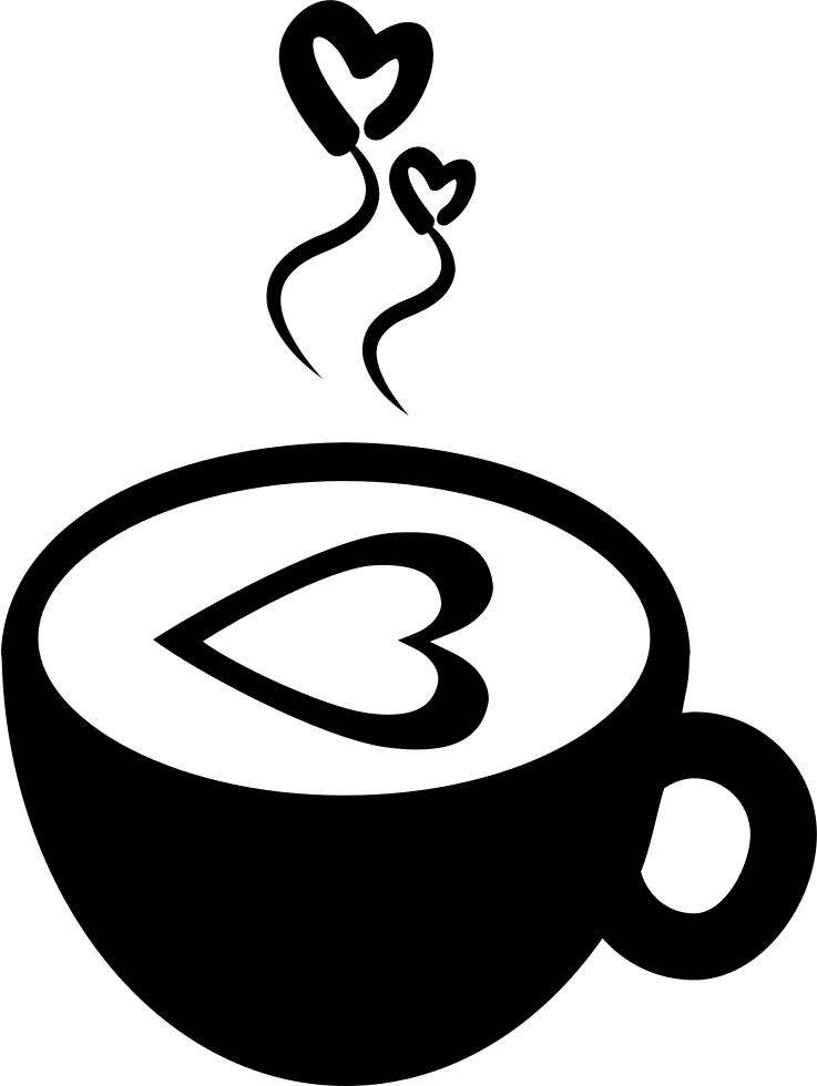 Hot with svg png. Hearts clipart coffee cup