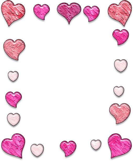 Hearts clipart design. Free heart designs cliparts