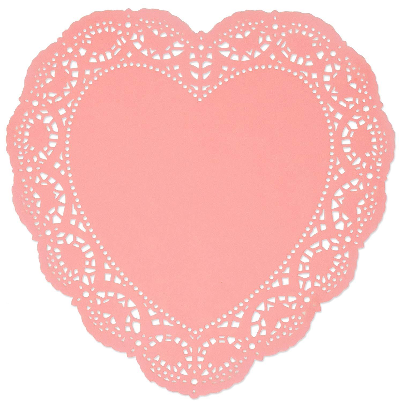 Heart clip art arts. Hearts clipart doily