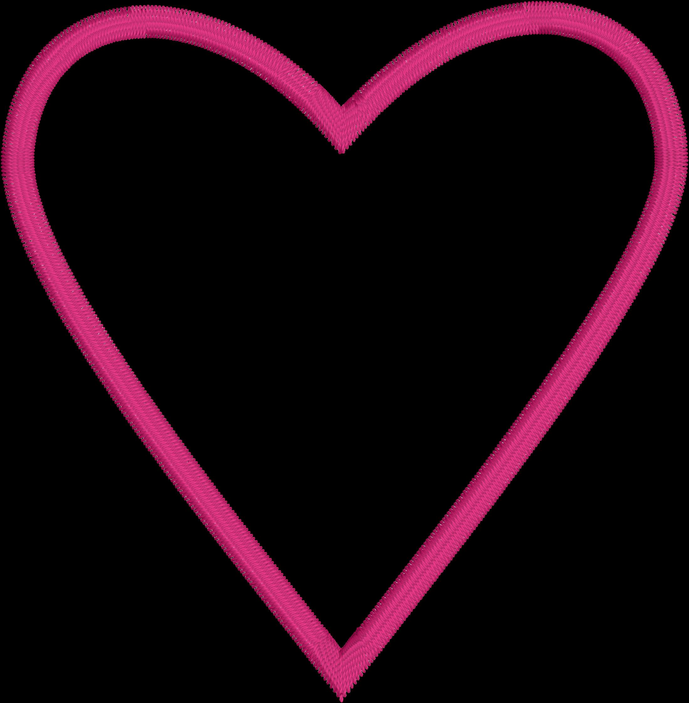 Hearts clipart doily.  ith applique heart
