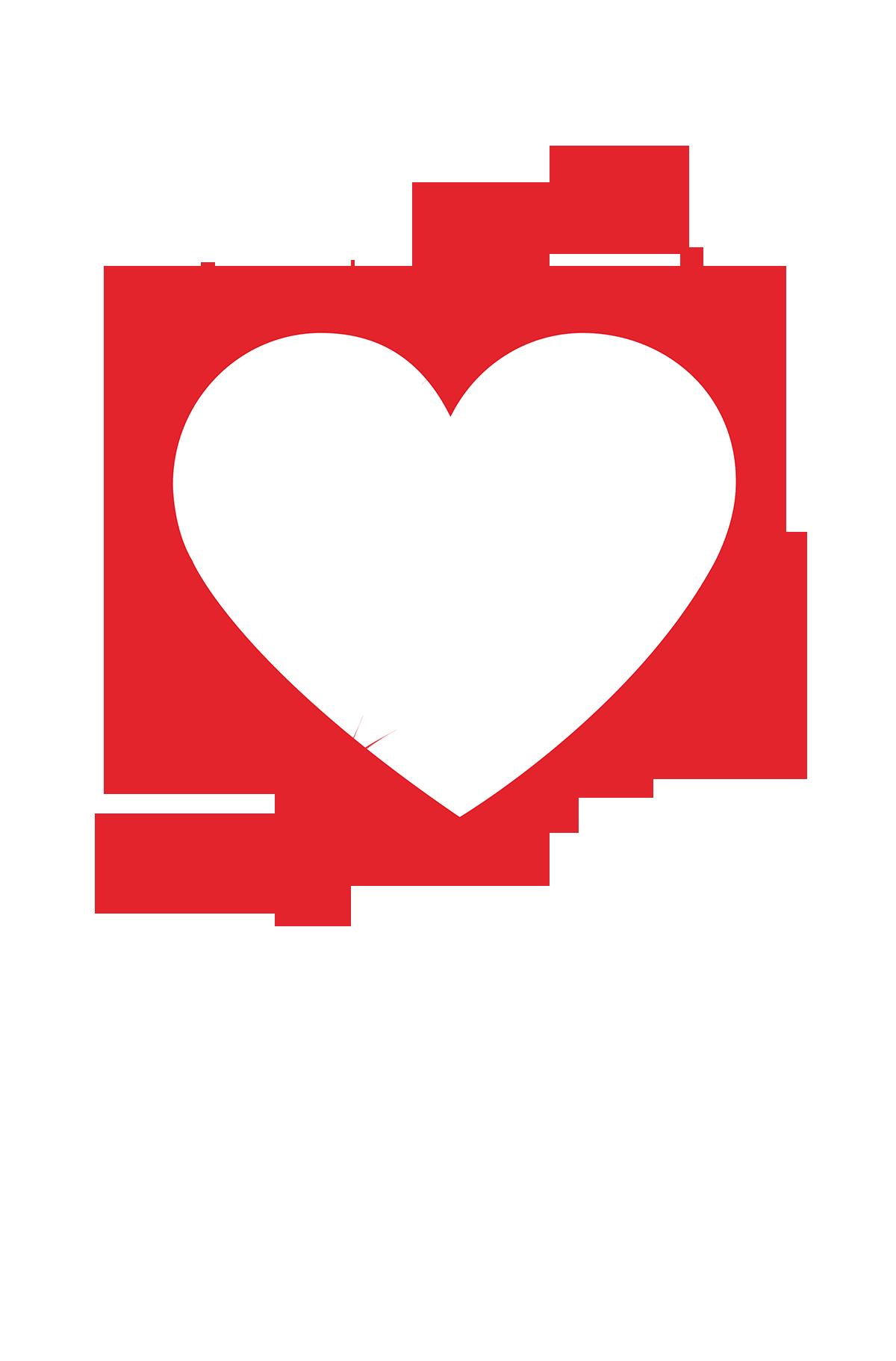 Hearts clipart donut. Heart clip art transprent