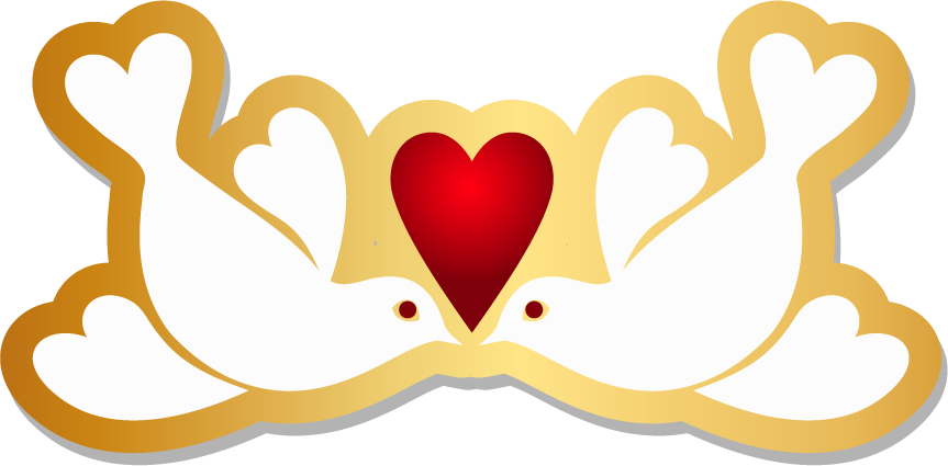 Hearts clipart dove. Rock columbidae bird heart