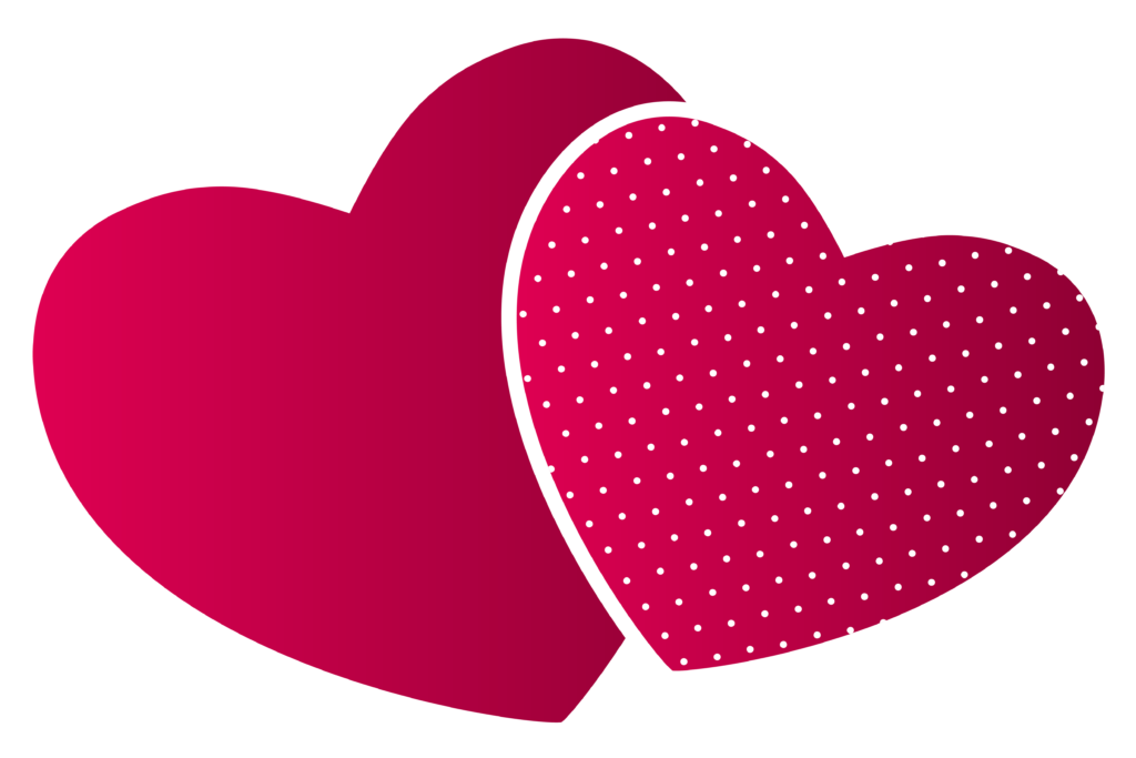 Double png wedding heart. Hearts clipart elephant