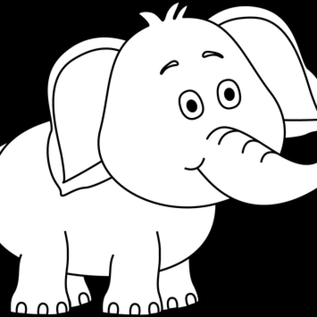 Hearts clipart elephant. White clip art happy