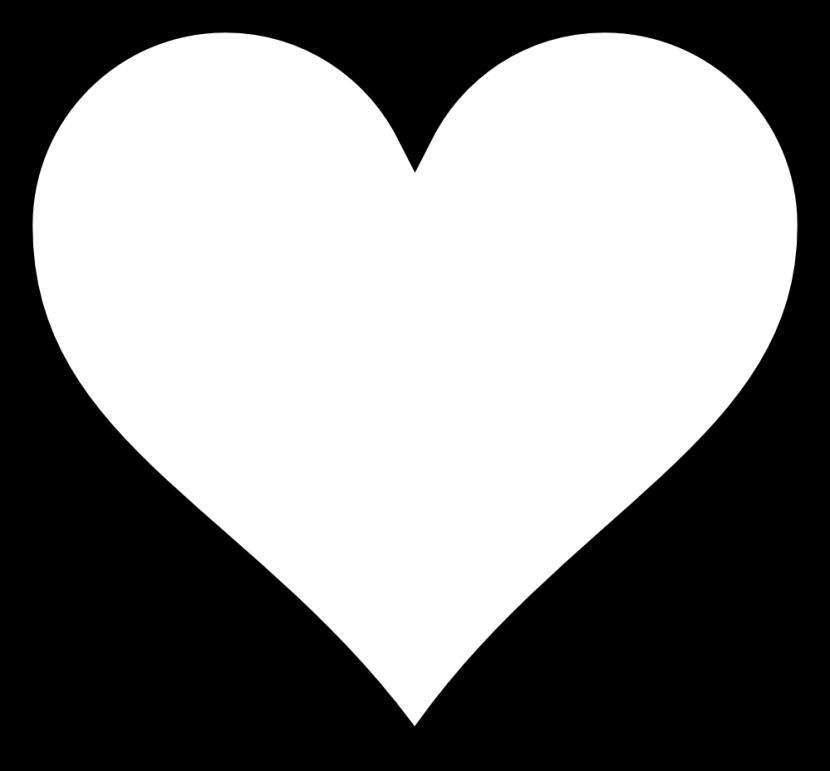 collection of black. Hearts clipart garden