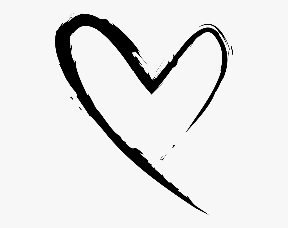 Heart png free . Hearts clipart hand drawn