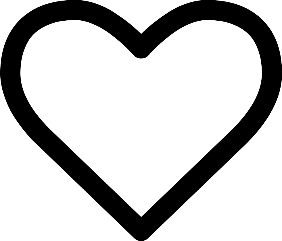 Heart clipart handwritten. Outline svg png icon
