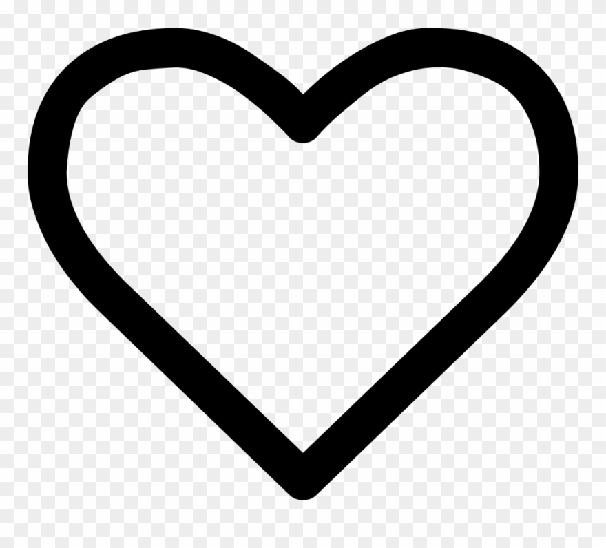 Heart empty font awesome. Hearts clipart icon