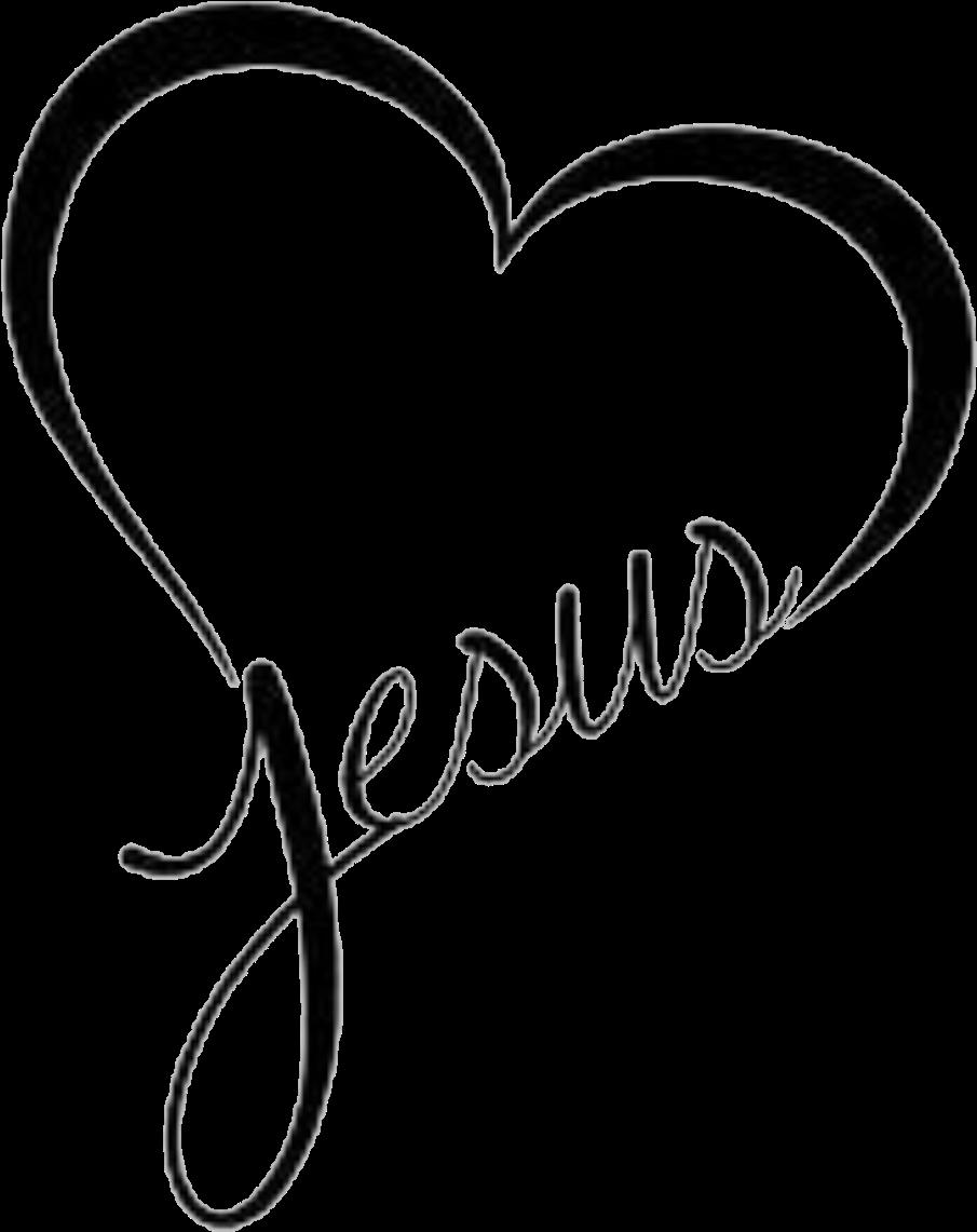 Heart clip art png. Hearts clipart jesus