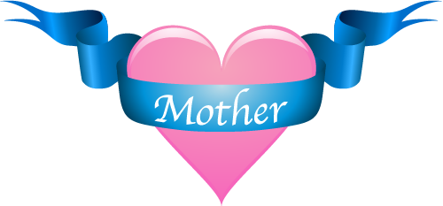 Free mother s vector. Hearts clipart mothers day
