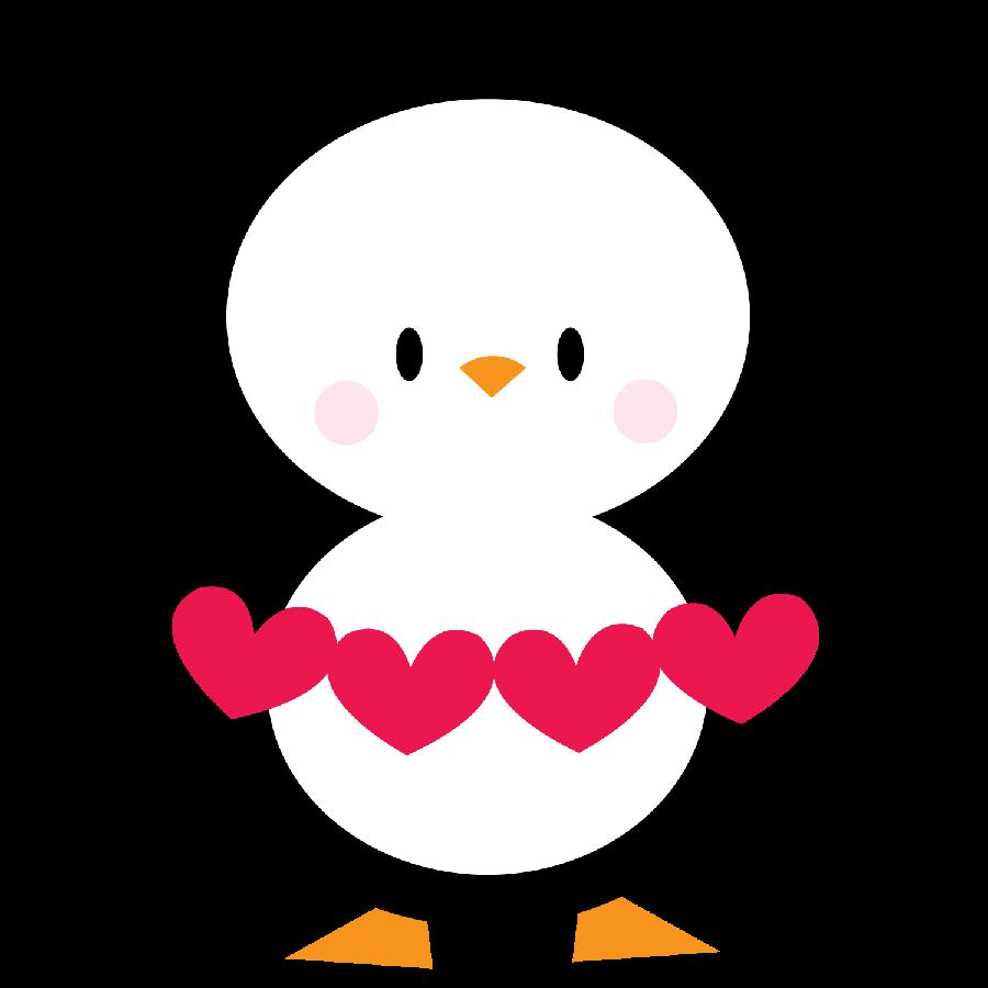 Hearts clipart penguin. Pinguins minus cosas lindas