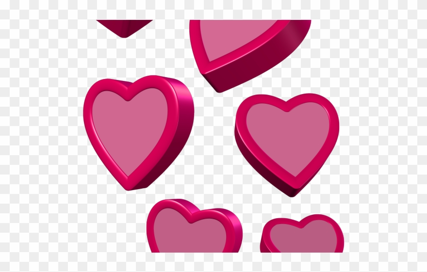 Figuras coracoes para peliculas. Hearts clipart person