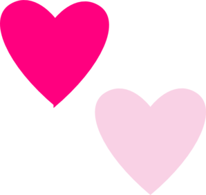 Hearts clipart pink. Free heart cliparts download