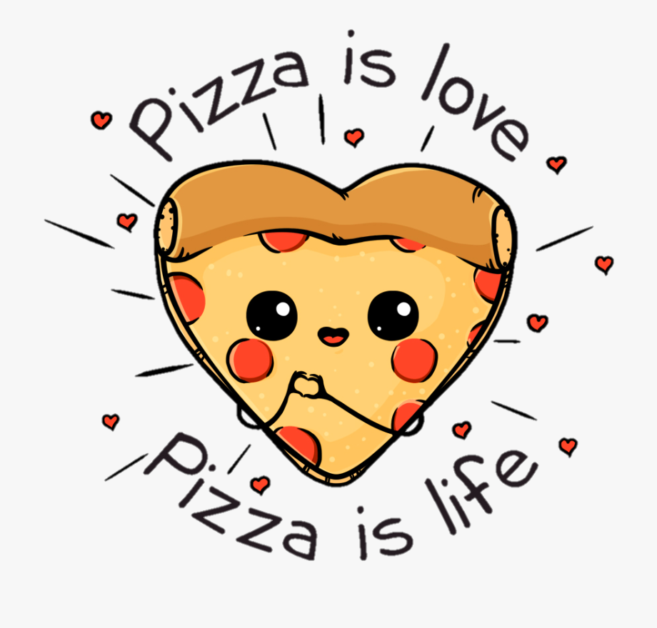 Hearts clipart pizza. Love heart is free