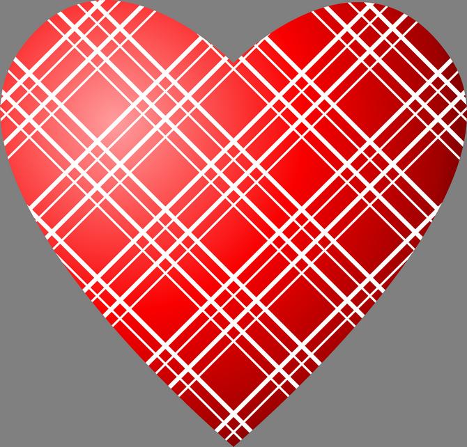 png clip art. Hearts clipart plaid
