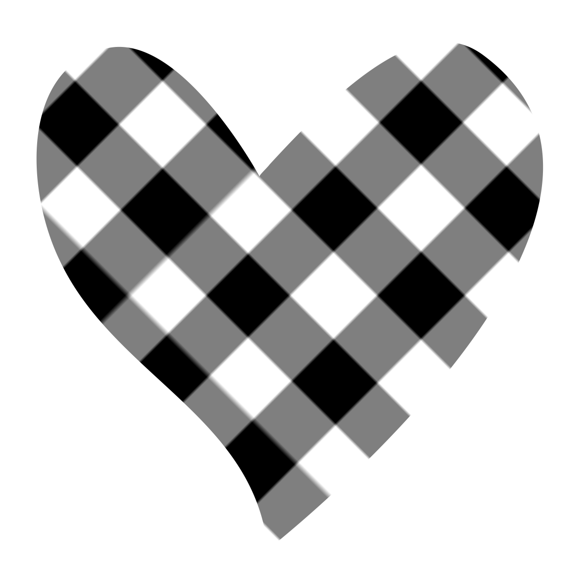 Hearts clipart plaid. B c pinterest