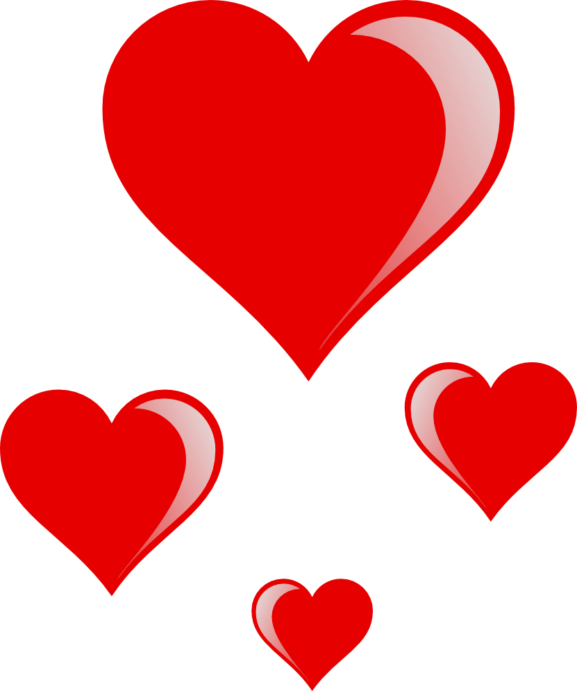 Hearts clipart png.  collection of high