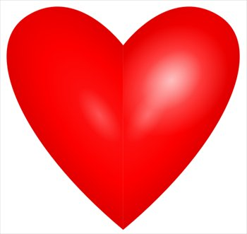 Free heart graphics download. Hearts clipart red