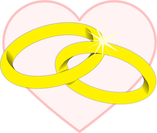 Hearts clipart ring. Free heart cliparts download