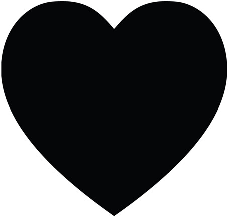 Free heart outline download. Hearts clipart simple