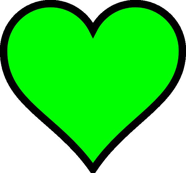Hearts clipart star. Green heart clip art