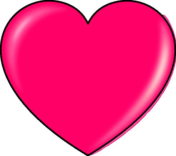 Secretlondon pink heart clip. Hearts clipart teacher