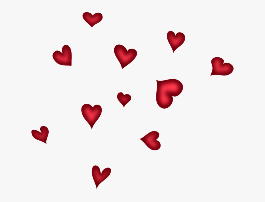 Hearts clipart transparent background. Red png pictureu b