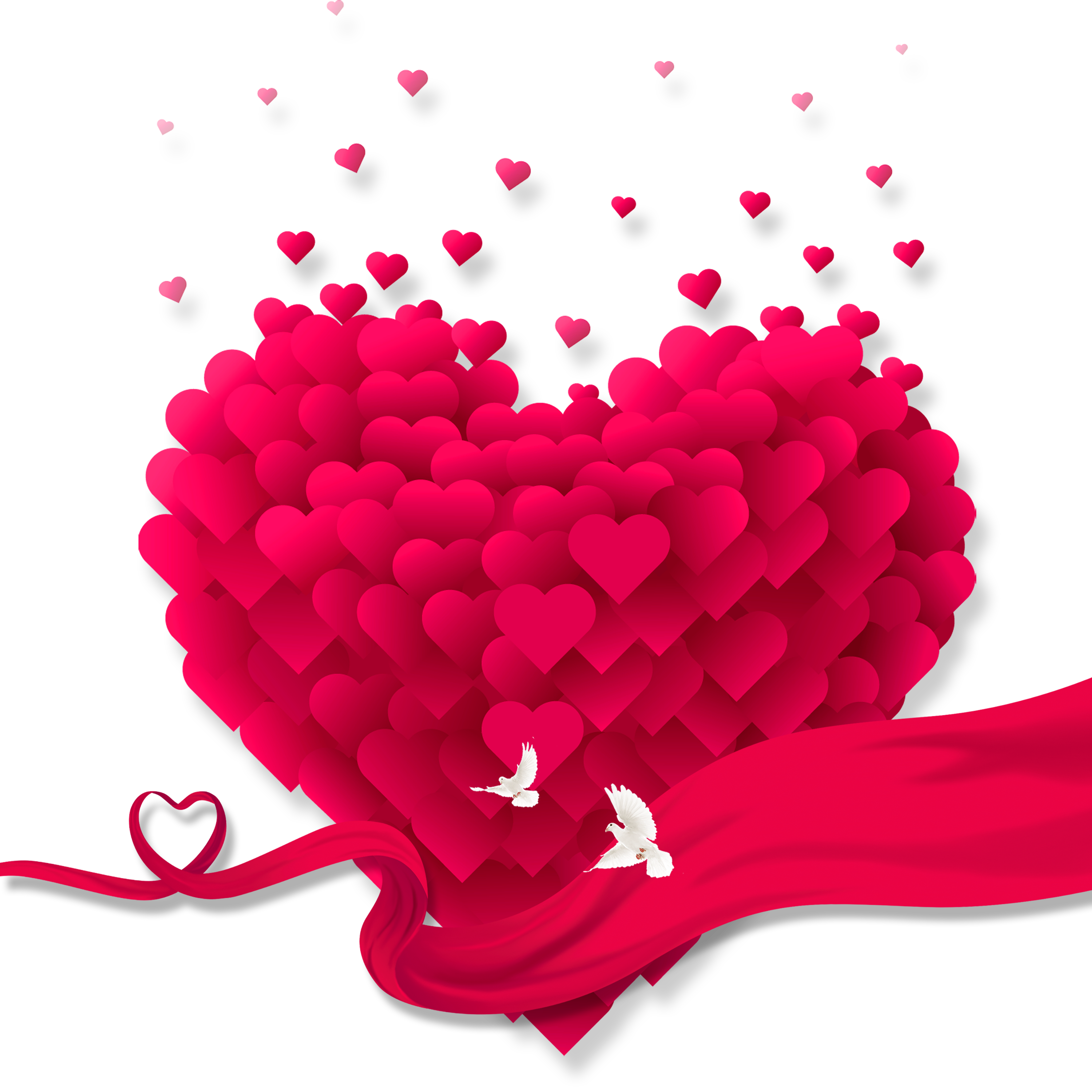 Hearts clipart watermelon. Heart clip art love