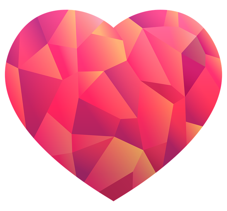 Free image on pixabay. Hearts clipart wave