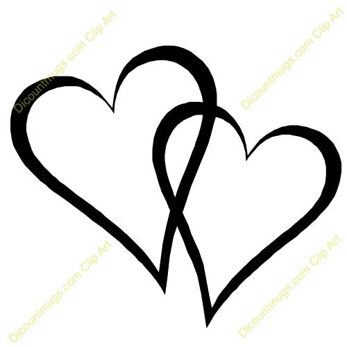 Hearts clipart wedding. Heart panda free images