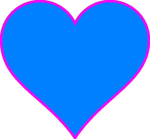 Hearts clipart winter. Blue heart clip art
