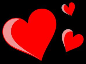 Three . Hearts clipart