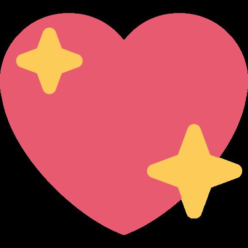 Hearts emoji png.  twitter twemoji