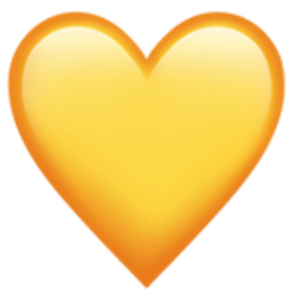 Hearts emoji png.  iphone heart for
