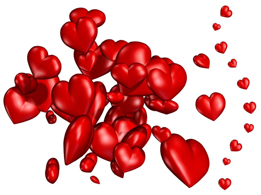 Hearts png images. Stock by roy d