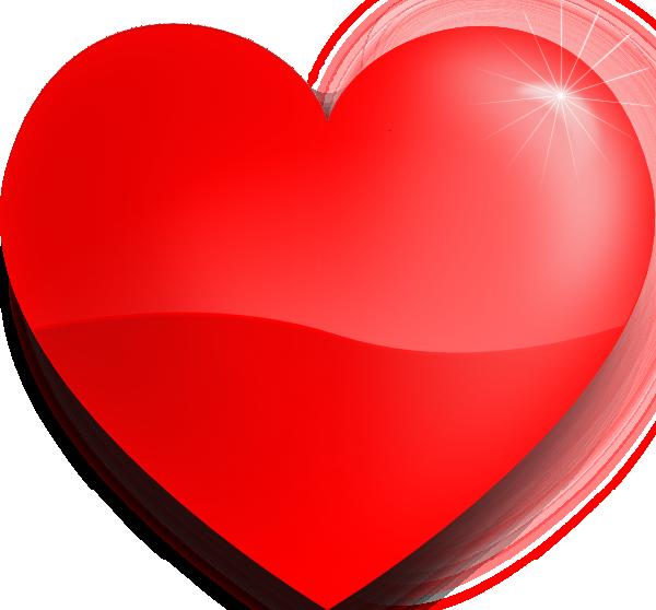 Heart clip art at. Hearts vector png