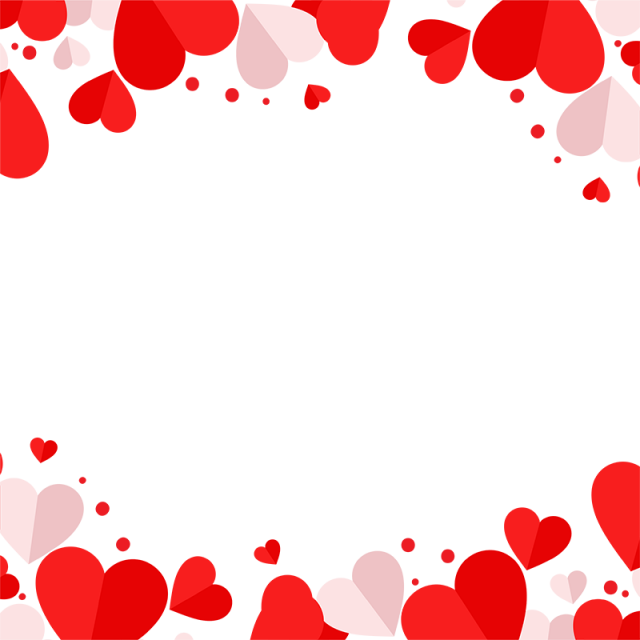 Hearts vector png. Red and pink heart