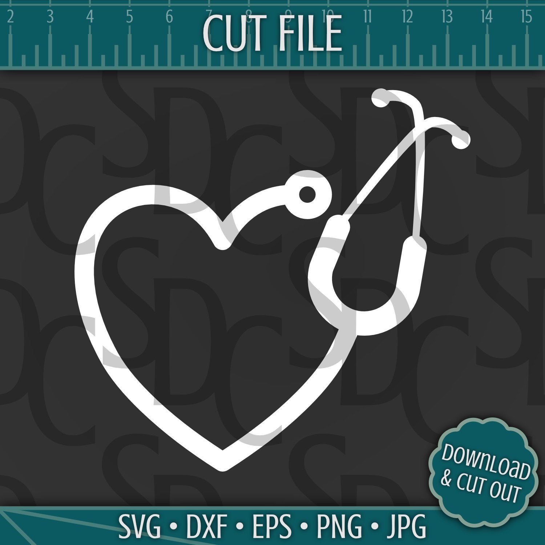 Heat clipart 4 heart. Stethoscope svg download cut