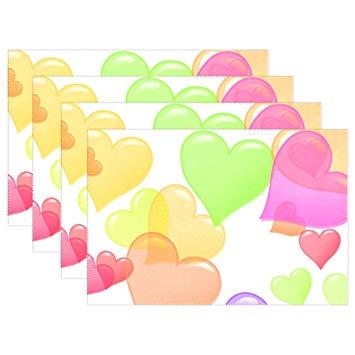 Amazon com enevotx hearts. Heat clipart 4 heart