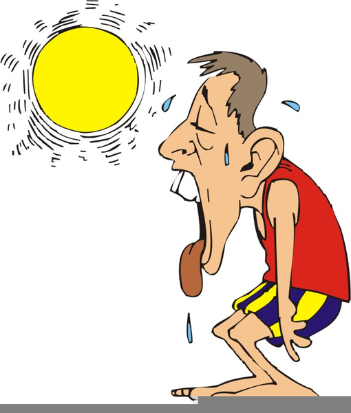 Heat clipart. Sweltering free images at