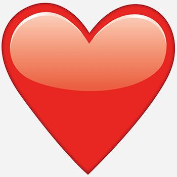 Heat clipart 7 heart.  red emoji what