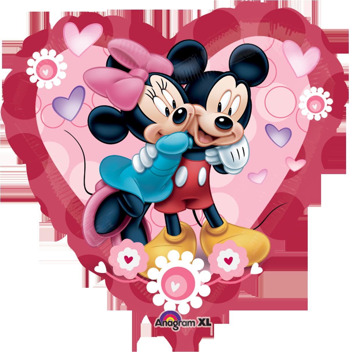 Heat clipart 7 heart. Mickey minnie jumbo el