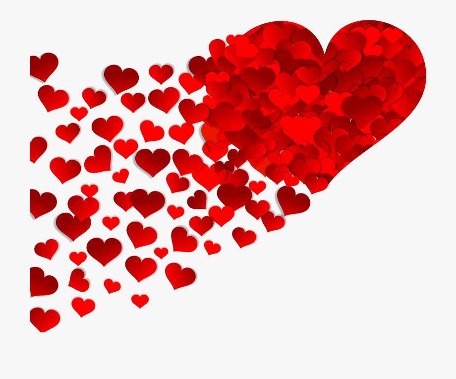 Love hearts wedding wishes. Heat clipart anniversary heart
