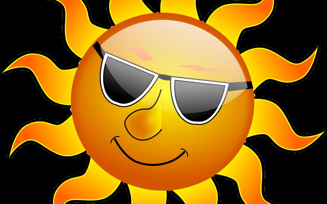Stay cool in hot. Heat clipart body heat