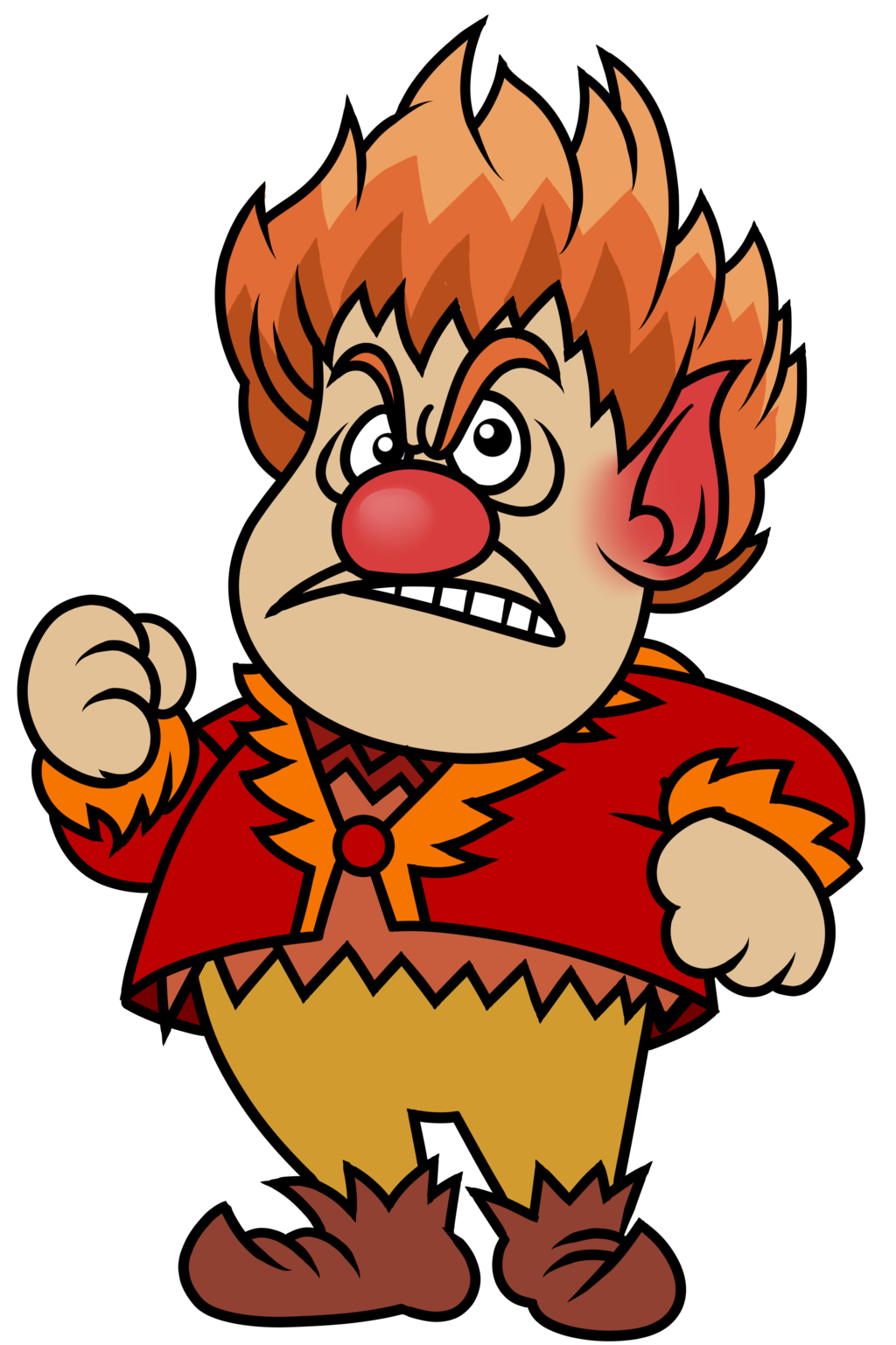 Heat clipart cartoon. Miser by cosmictangent on