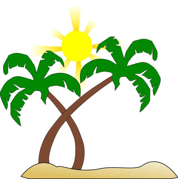Heat clipart clip art. Sun beach free on