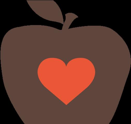 Hd apple free unlimited. Heat clipart cluster heart