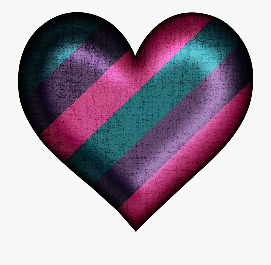 Heat clipart colored heart. Colourful free